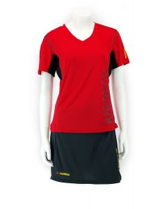 Karakal Pro Tour Lady Tee Red 2018