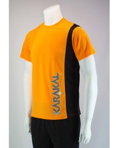 Karakal Club Tee Orange & Black