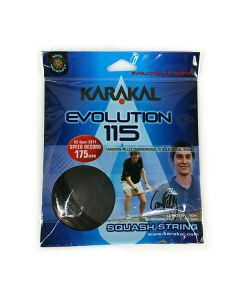 Karakal Evolution 115 Squash Strings 10M Set