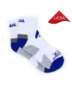 Karakal X2+ Mens Technical Ankle Socks - White and Blue