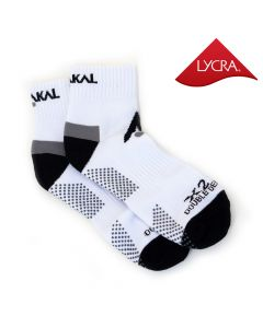 Karakal X2+ Mens Technical Ankle Socks - White and Black