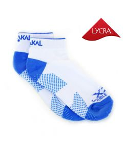 Karakal X2+ Ladies Technical Trainer Socks - White and Blue