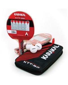 KTT 50 Two Table Tennis Bat Set