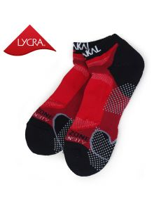 Karakal Mens X4-Technical Trainer Sock - Red