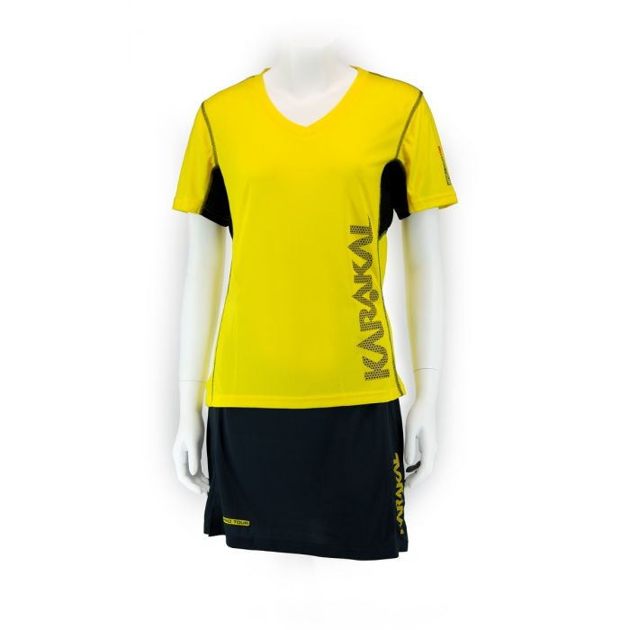 Karakal Pro Tour Lady Tee Yellow 2018