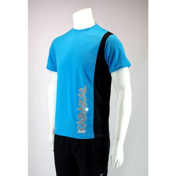 Karakal Club Tee Blue & Black