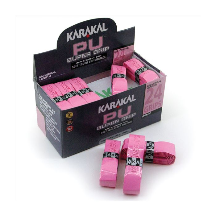 Karakal PU Super Grip Pink - Box of 24