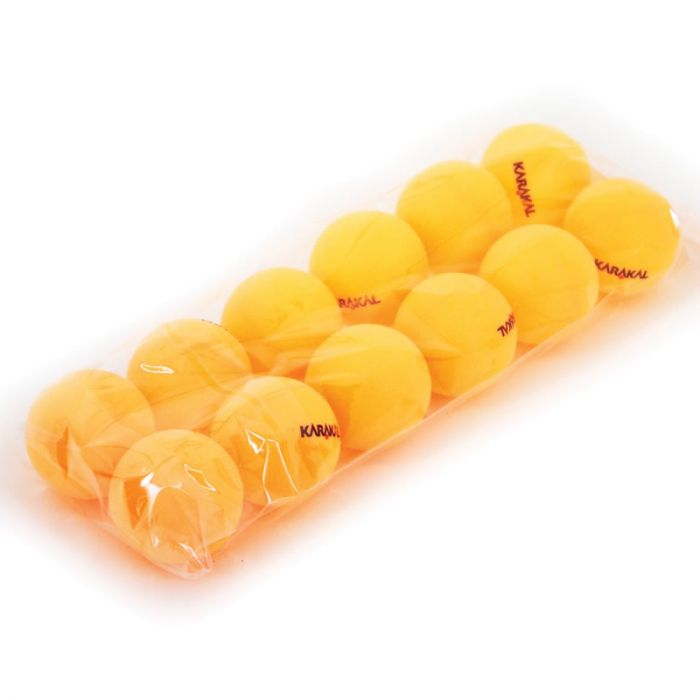 Table Tennis Balls x 12 Orange