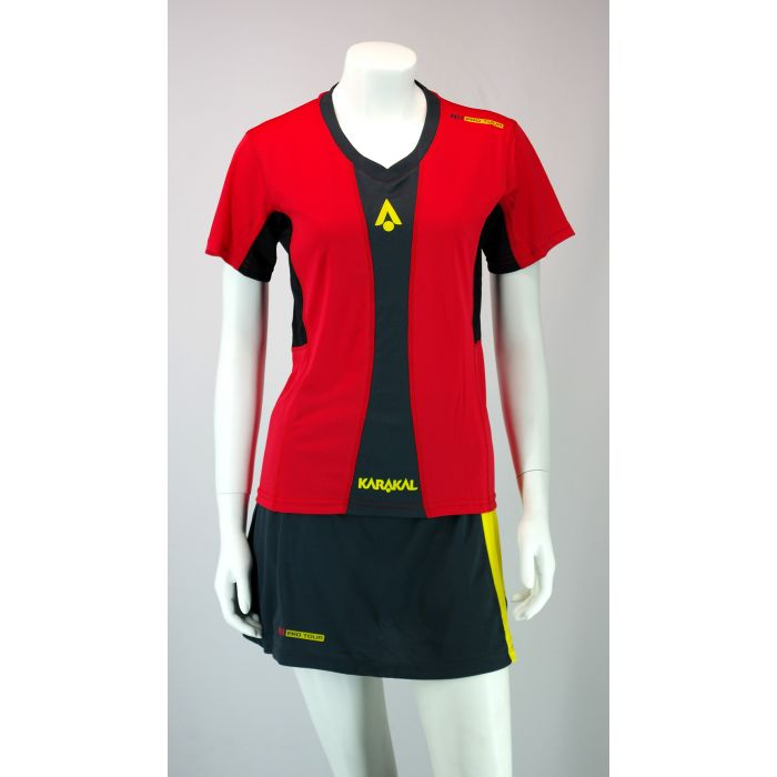 Karakal Pro Tour Lady Tee Red