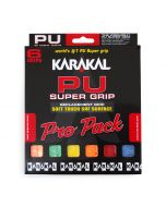 Karakal PU Super Grip Assorted Pro Pack x 6