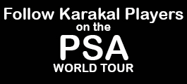 Karakal Players on PSA Tour