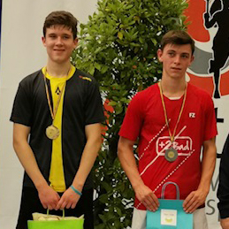Ethan is Champion in Herstal