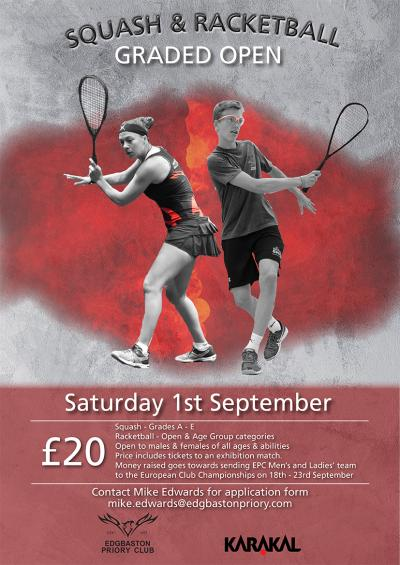 Karakal Squash And Racketball Open