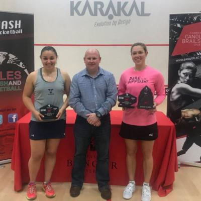 Lisa is Karakal Bangor Classic Champion