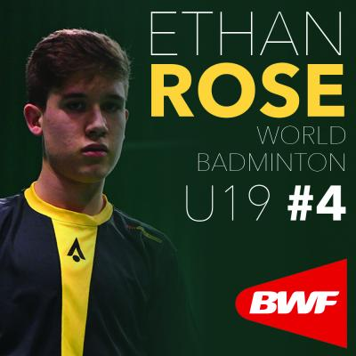 Rose Ranked World U19 #4