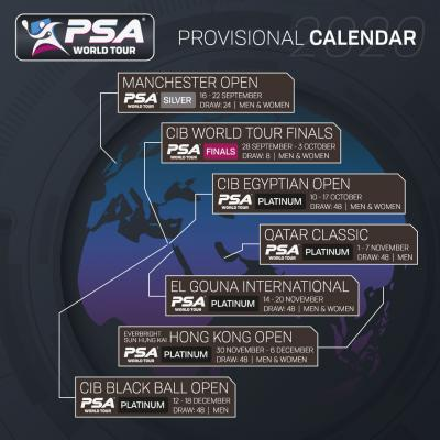 PSA Issues Provisional Calendar for Return of PSA Tour!
