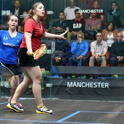 Professional Squash is Back!