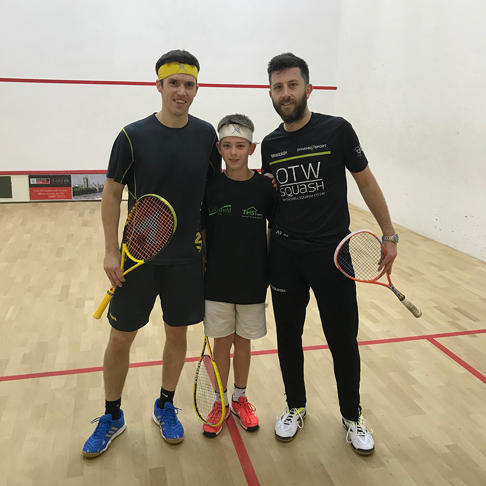 Chris Simpson at Limpsfield Squash