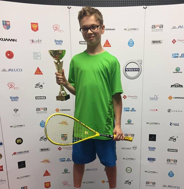 Jan Samborski, Poland U13 Champion