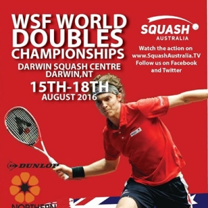 Doubles Squash in Darwin